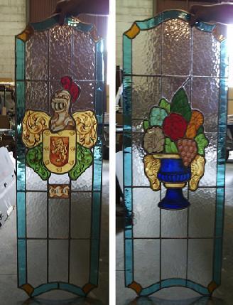 Vidrieras art sticas antonio salgado obra profana - Vidrieras para puertas ...