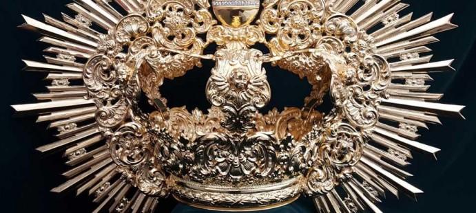 Corona para Ntra Sra de la Granada-Realizado para la localidad sevillana de Guillena