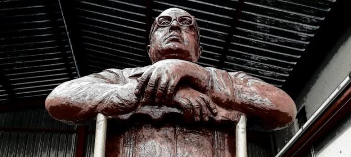 Monumento al Pali en la fundición-