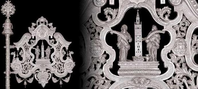 Gui�n para La Estrella-Obra realizada para la Hdad de la Estrella de Sevilla