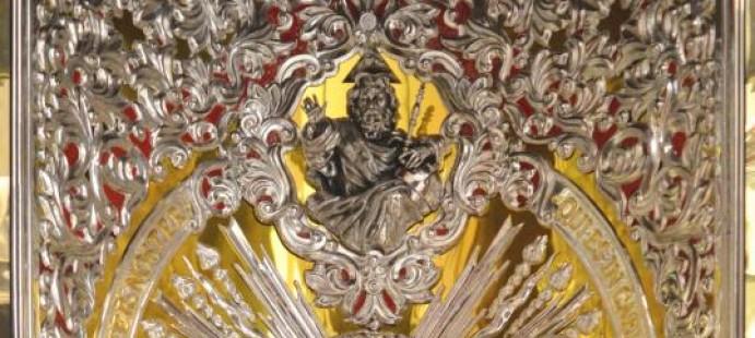 Bóveda central techo Carreta Rocío Córdoba-
