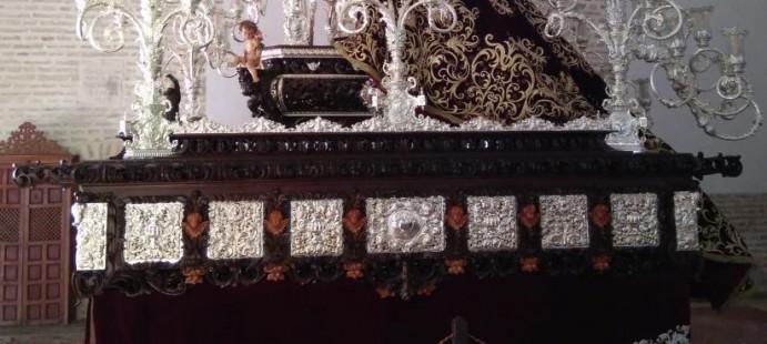 Nuevo Paso para la Virgen de los Dolores-De la Hdad de Santiago de Écija, Sevilla.
