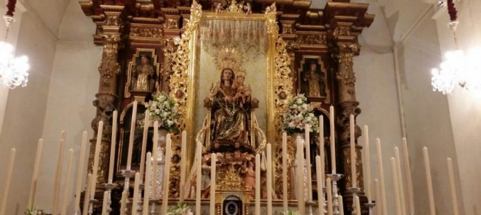 Dosel para la Virgen de la Bella de Lepe-