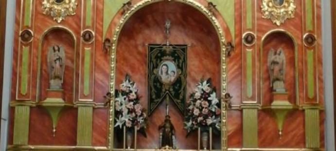 Retablo para Nuestra Sra de la Bella-Realizado para la localidad de Lepe , Huelva