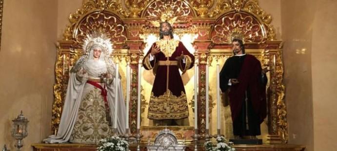 Retablo Hdad de la Paz de Sevilla-Proceso completo de dibujado, tallado y montaje